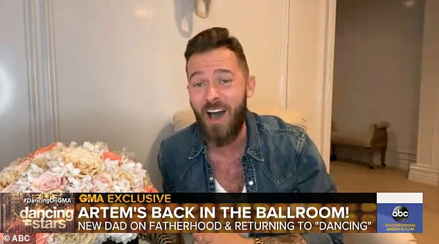 Here I go:Artem Chigvintsev will be back in the ballroom come autumn. The 38-year-old professional dancer from Russia will be performing again on the hit series Dancing With the Stars, he revealed on Good Morning America on Monday