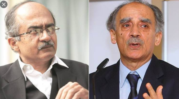 Arun Shourie on SC's decision on Prashant Bhushan, said - chair is not meant to stand