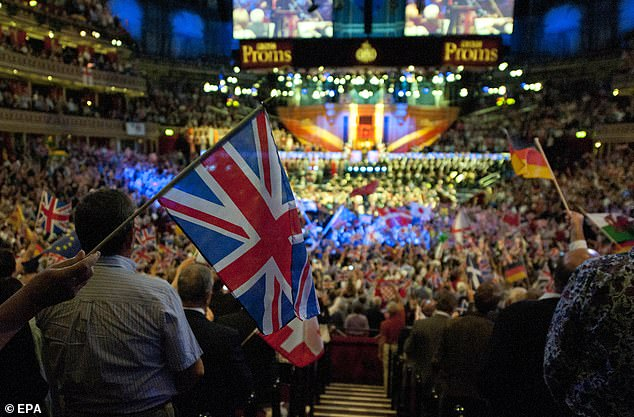 An emergency action plan was brought in to tackle so-called 'unconscious bias' within the world-renowned orchestra, which plays at the Last Night Of The Proms, pictured, every year