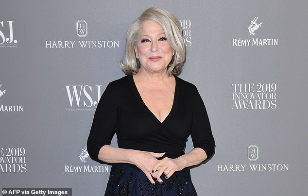 Bette Midler (pictured) launched a Twitter tirade against Melania Trump during the first lady
