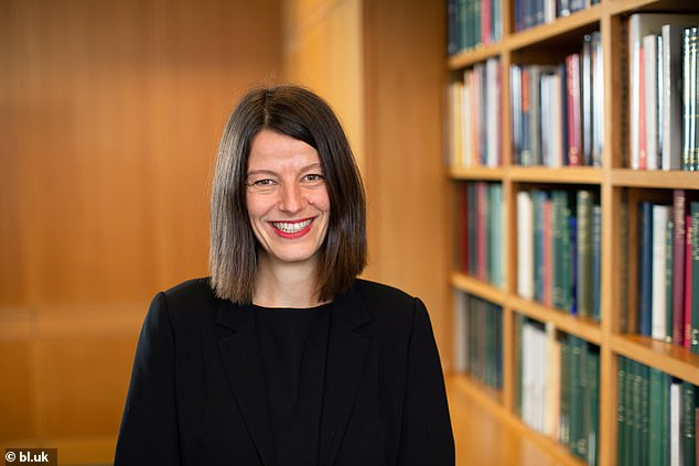 Liz Jolly, the British Library