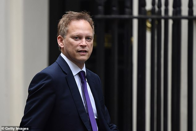 Plans launched by Grant Shapps (pictured) in May are aimed at boosting greener methods of transport across the country but the AA and RAC claim that roadworks could cause traffic flow to grind to a halt