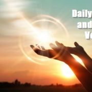 Daily Prayer and Bible Verse for Strength, Peace and miracle