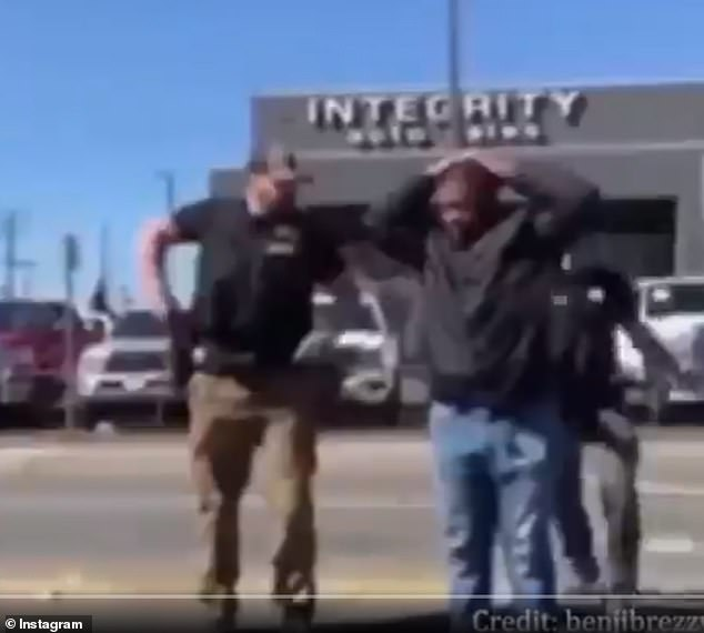 A witness said that on March 11, two Sacramento County Sheriff