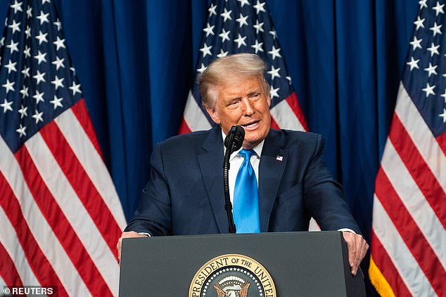 President Donald Trump demanded that he and Joe Biden be administered drug tests before the presidential debates