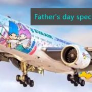 -Fathers Day in Taiwan_ Taiwanese airline is offering Hello Kitty Fathers Day lux