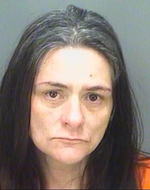 Nicole Dozois, 40, was arrested at home along 130th Avenue in North Largo, near to Tampa Bay, in the early hours of Sunday morning