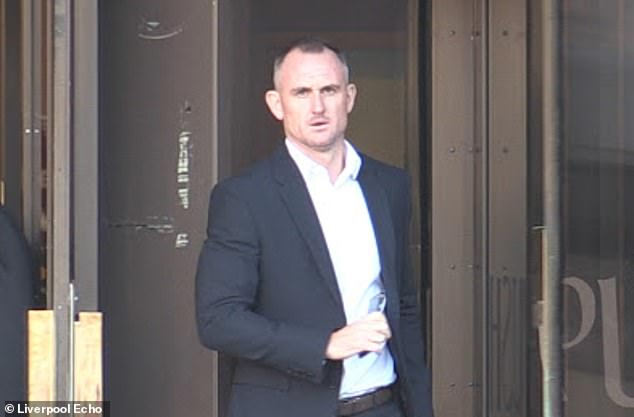 Former Everton and England striker Francis Jeffers has been banned from driving after refusing to take a breathalyser test. Pictured: Jeffers at a separate court appearance last year