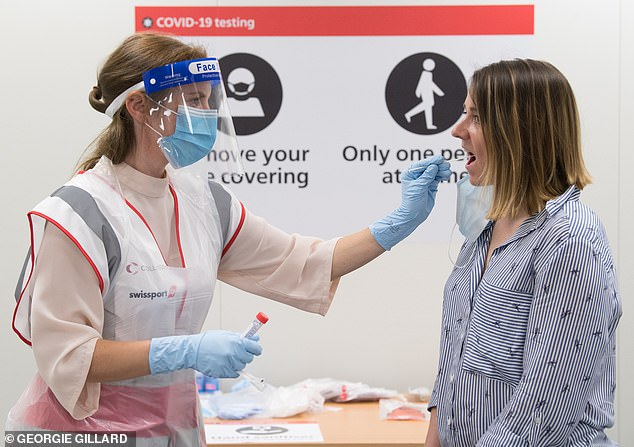 Heathrow is trialling twenty-second Covid tests in a bid to replace the current quarantine system and