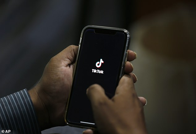 The British government is considering allowing Chinese firm ByteDance, owners of the TikTok app (file image) – to establish a headquarters in London