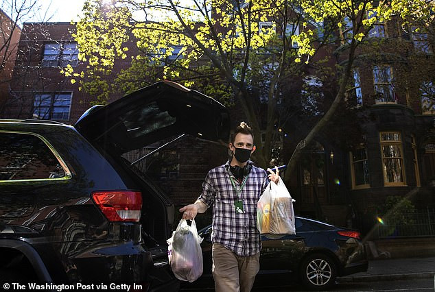 Instacart uses gig-economy delivery workers who shop for consumers at supermarkets
