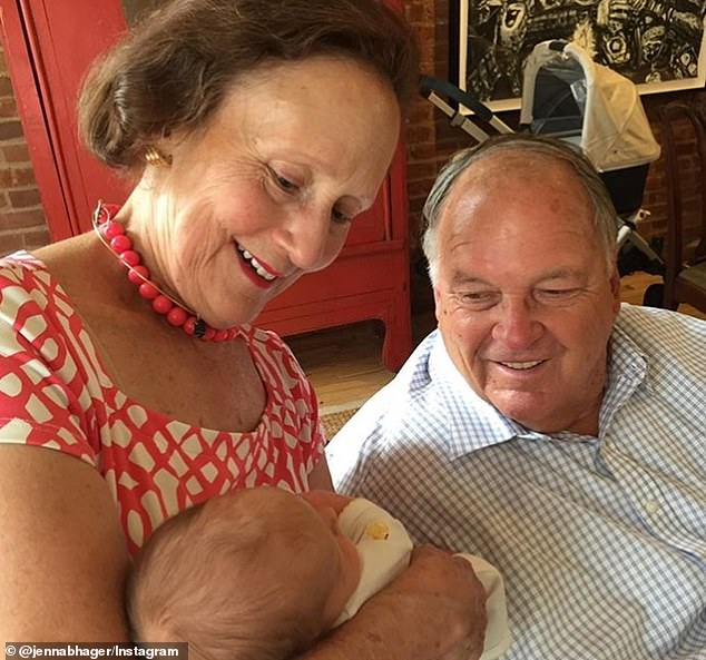 Loss: Jenna Bush Hager is mourning her father-in-law John Hager, who died on Sunday at the age of 83. He