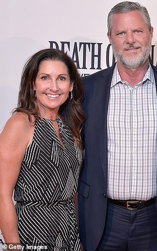 Jerry Falwell Jr. with his wife Becki