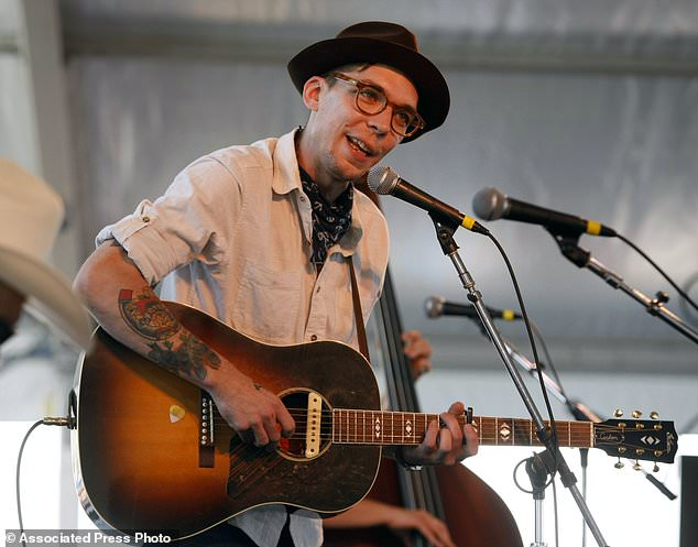 FILE - In this July 31, 2011 file photo, singer-songwriter Police believe Newport Folk Festival in Newport, R.I. Earle, a leading performer of American roots music known for his introspective and haunting style, has died at age 38. New West Records publicist Brady Brock confirmed his death, but did not immediately provide details. Earle was the son of country star Steve Earle. (AP Photo/Joe Giblin, file)