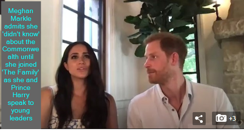 Meghan Markle admits she 'didn't know' about the Commonwealth until she joined 'The Family' as she and Prince Harry speak to young leaders