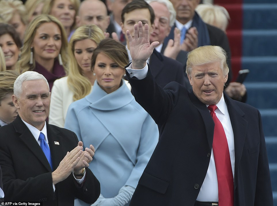 Melania Trump plotted to block Ivanka Trump from being in photos of President Trump taking the oath of office on Inauguration Day, in what was dubbed
