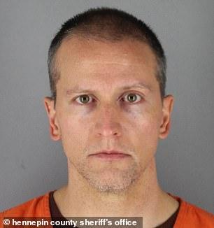 Pictured: Former Minneapolis Police Department officer Derek Chauvin, 44