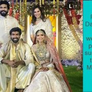 Rana Daggubati's wedding photos surfaced, this is Mihika's look