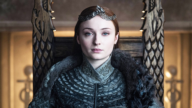 Sophie Turner Brings Home Sansa's Throne From 'Game Of Thrones' After Welcoming Baby Girl