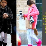 Suri Cruise's Fashion_ Photos of Her Best Looks Over The Years – Hollywood Life