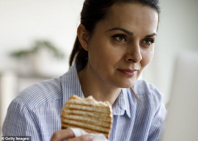 For many of us, meal times have become just another to-do job, and the temptation is to multi-task [File photo]