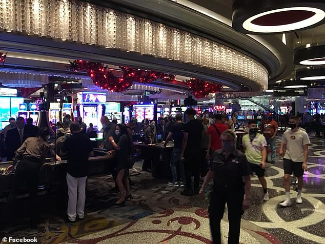Workers at the Cosmopolitan casino in Las Vegas have said it is