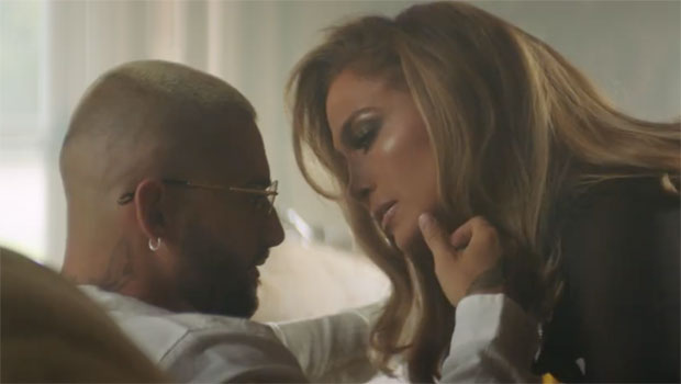 Jennifer Lopez Stuns In Sexy Outfits & Nearly Kisses Maluma In 'Pa Ti' & 'Lonely' Videos — Watch