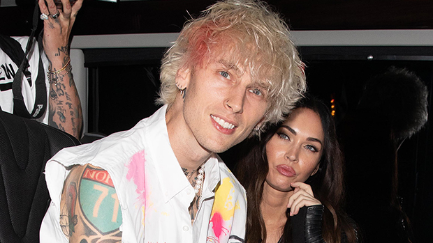 Machine Gun Kelly Wraps His Arm Around Megan Fox On Dinner Date Ahead Of His Album Release