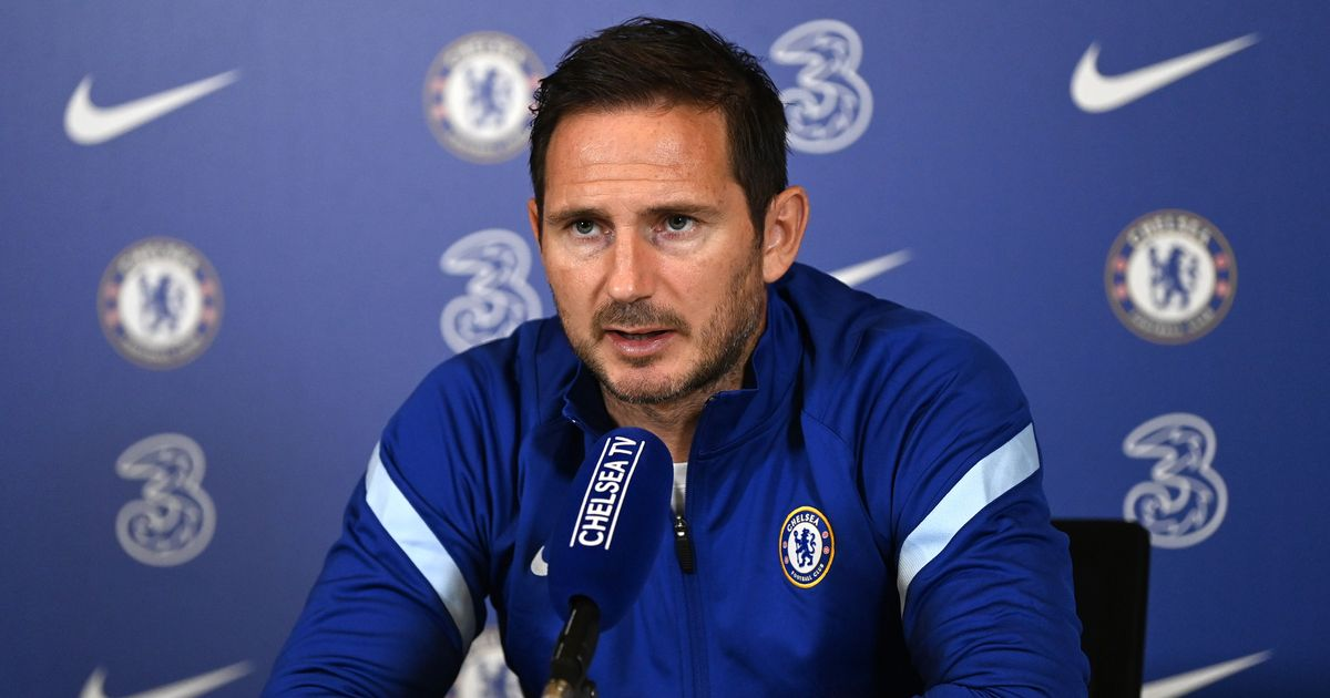 Frank Lampard explains why Edouard Mendy won't go straight into Chelsea team