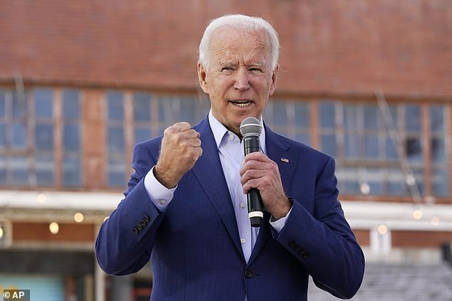 Joe Biden warned that Barrett had a track record of disagreeing with Obamacare