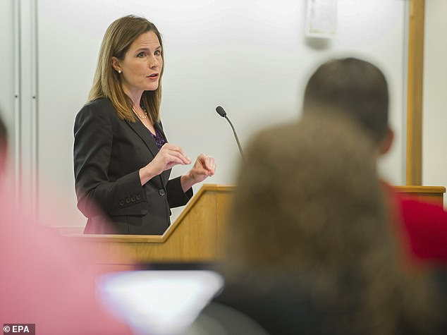 Barrett's record now includes around 100 opinions and dissents. In a majority of decisions, her interpretation of the Constitution has led her to an opinion that often jibes with conservative policies and outlooks