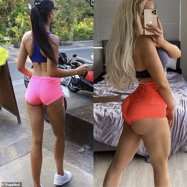 'I was ready to take my fitness goals to another level and was interested in competing professionally in bodybuilding shows. I expressed my new goals to a fitness coach and I openly said I wanted to focus on building my glutes,' she said