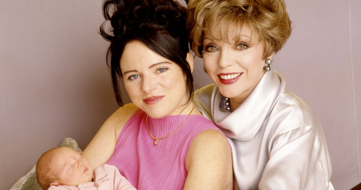 Joan Collins' daughter learned about sex by peeking at aunt Jackie's racy novels