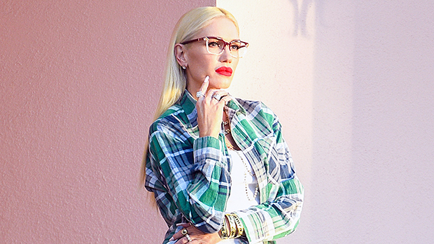 Gwen Stefani Rocks Tank Top & Shredded Daisy Dukes In Photo Shoot For New LAMB Line Of Glasses