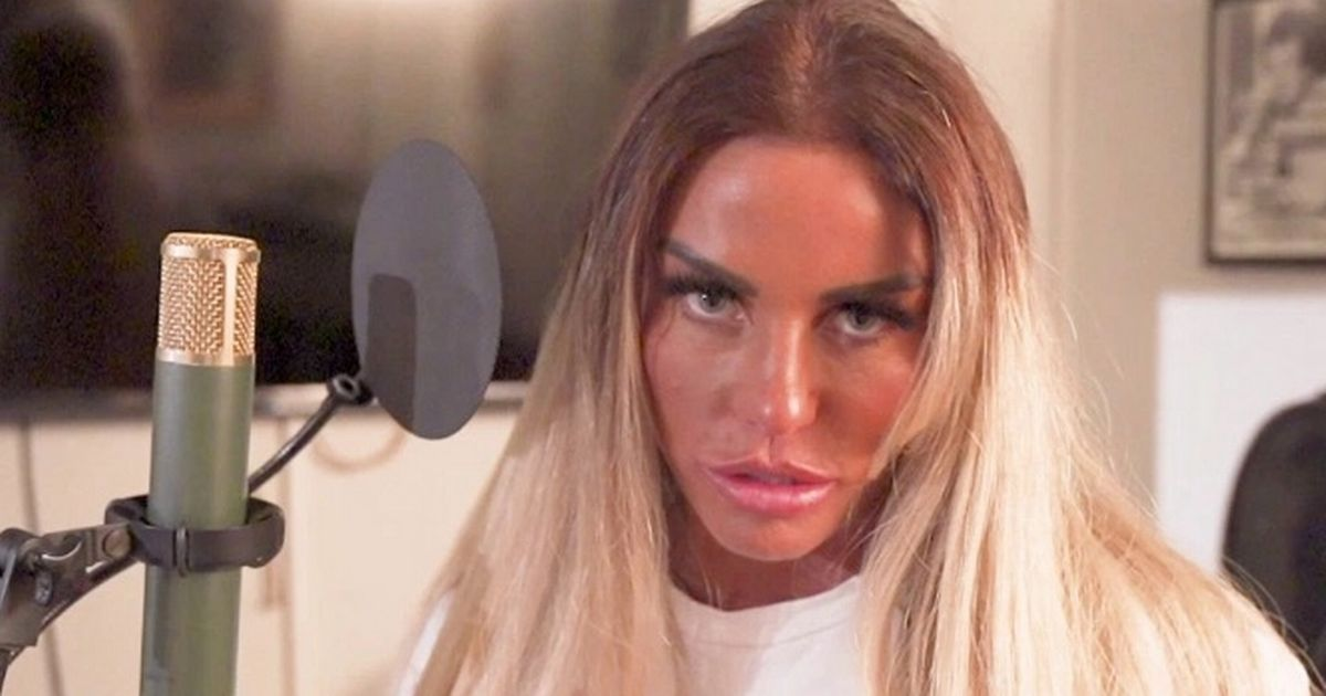 Katie Price sings she's 'broken and nobody can see it' in pointed new single