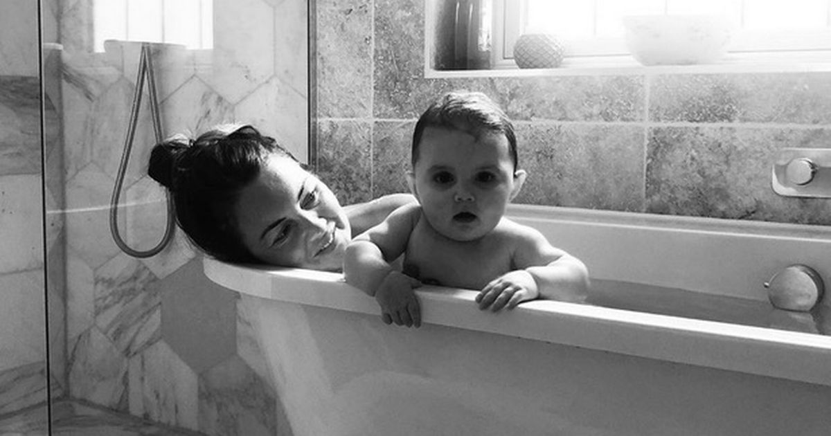 Lacey Turner's sweet bath snap with baby Dusty after announcing second pregnancy