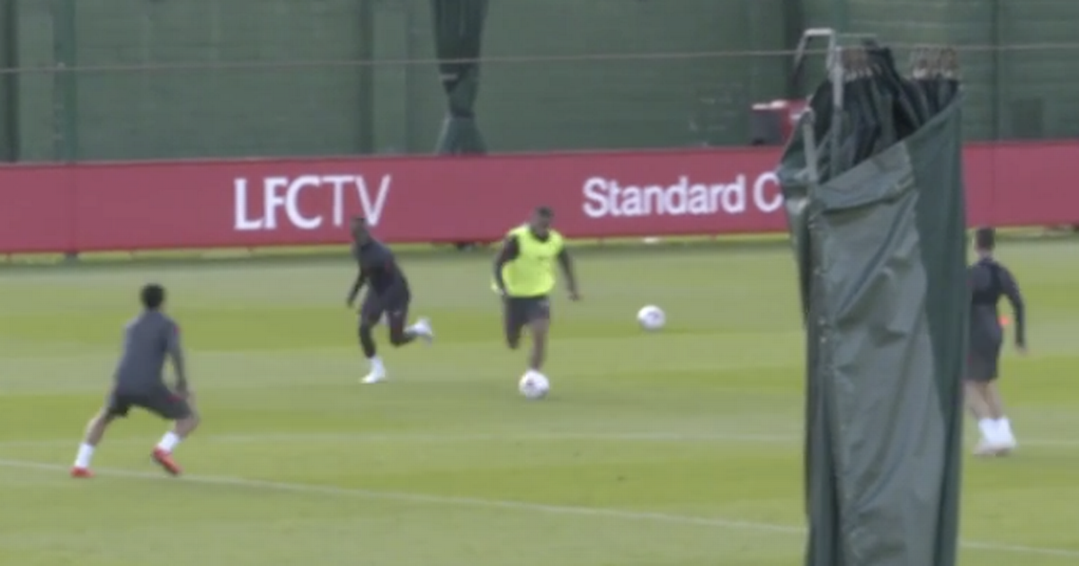 Liverpool fans 'in tears' at Thiago training footage with star to miss Arsenal