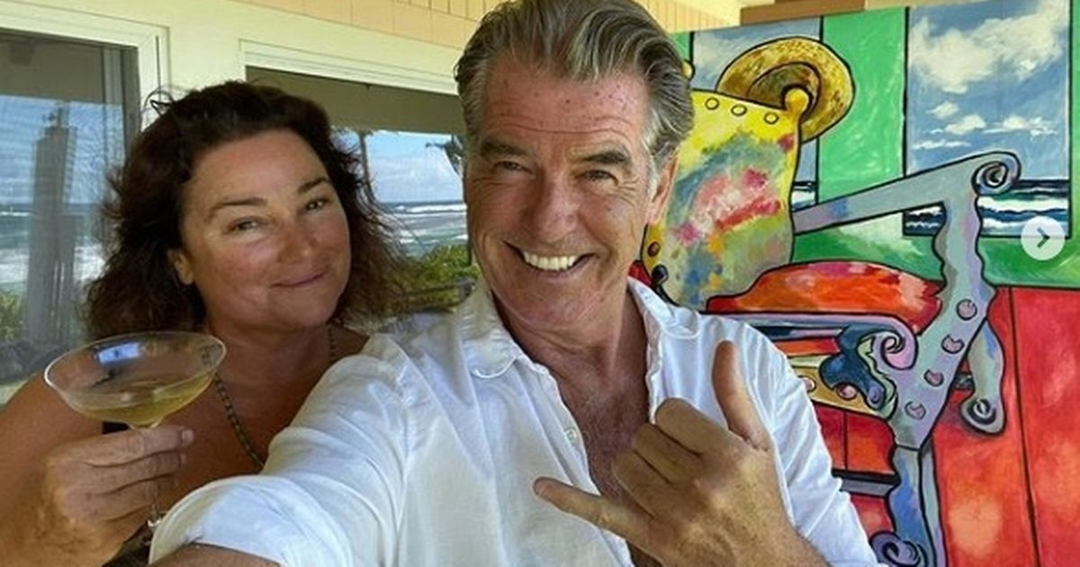 Pierce Brosnan's sweet birthday message to wife of 19 years on her 57th birthday