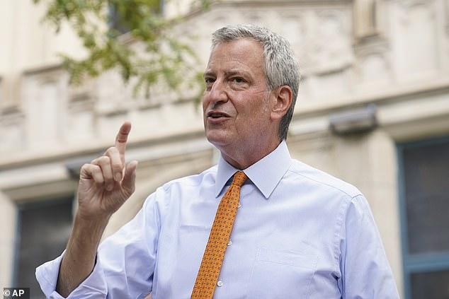 Bill de Blasio, mayor of New York, has said his city's finance department is investigating