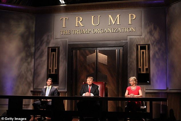 Thanks to a deal he made with producers of the show in 2005 alone, Trump raked in $47.8million because of a deal which entitled him to half the show's profits