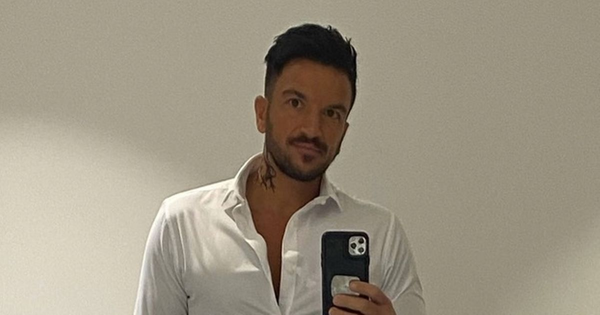 Peter Andre's fans are horrified after spotting his new neck tattoo in sexy snap