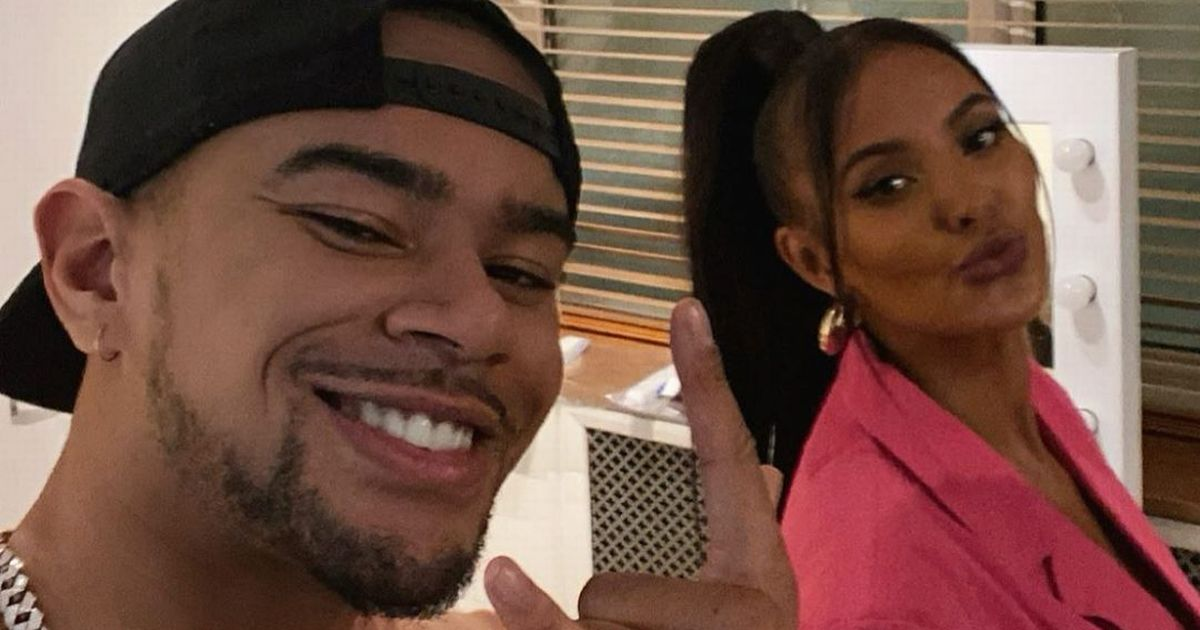 Wes Nelson and Maya Jama spark dating rumours as the 'perfect pair' pose in snap