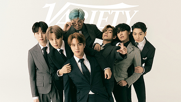 BTS Suits Up For 'Variety' Cover Shoot & Goof Off Between Takes In Behind-The-Scenes Video