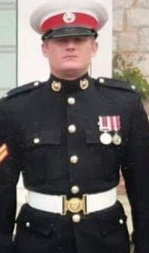 Pictured:Corporal Ashley Bernard Nickless