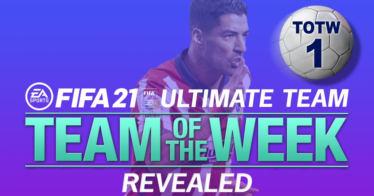 FIFA 21 Ultimate Team TOTW 1 lineup confirmed featuring Bruno Fernandes