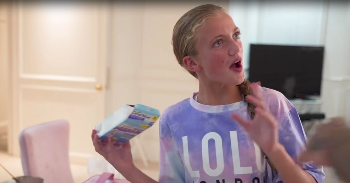 Katie Price's daughter Princess' horror as she finds open 'pregnancy test'
