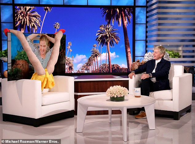 Amy Schumer makes a hilarious 'in-person' appearance on The Ellen DeGeneres Show