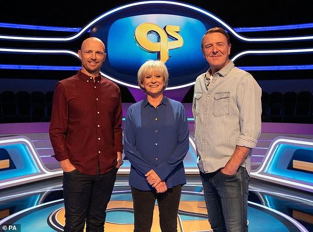 Sue Barker, 64, (centre) has been axed as host of BBC