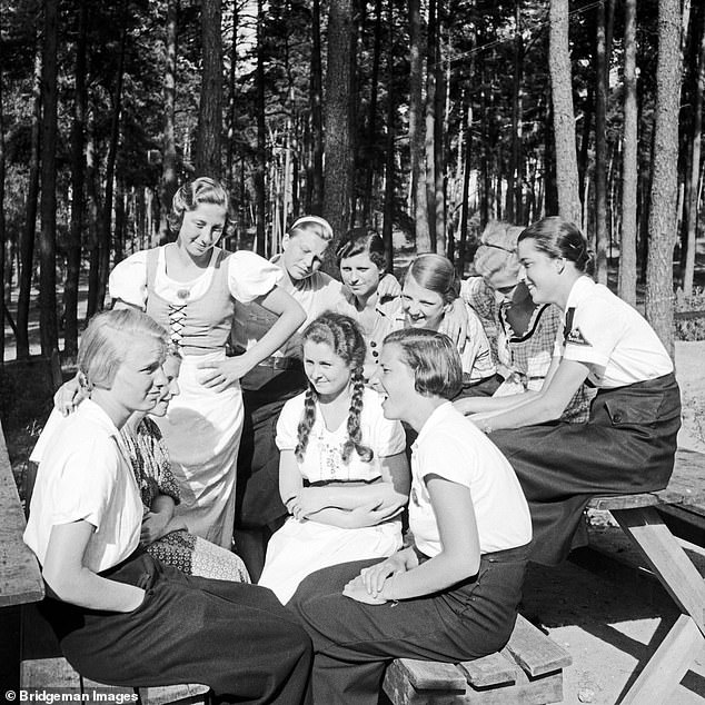 Beauties who had babies for Hitler: Fuhrer ordered German soldiers to impregnate Norwegian girls