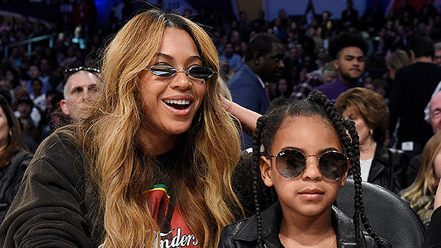 Beyonce Cuddles Daughter Blue Ivy, 8, In Sweet Throwback Pic With Mom Tina Lawson